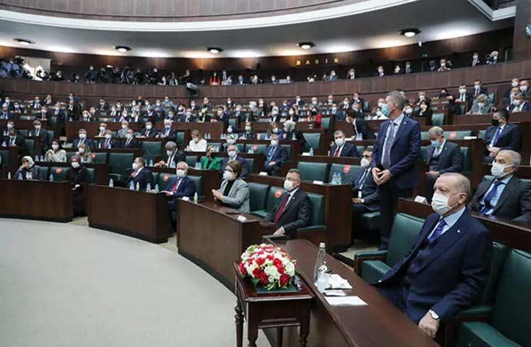 Cumhurbaşkanı Erdoğan AK Parti